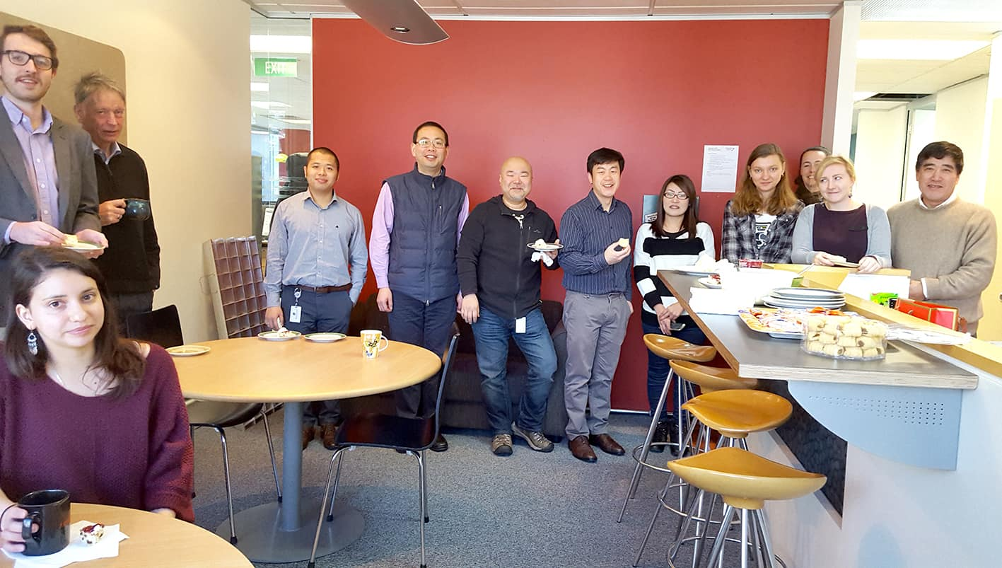 Representative from Lingua Technologies International, an accredited translation company based in Singapore, was in NZTC, New Zealand as part of the staff exchange between partners in the GCBG.