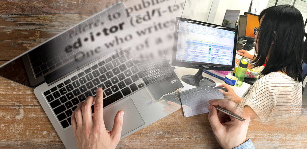 Editing process in a translation company is the last line of defence of any content creation, translation, writing project. It corrects all grammatical errors, mistranslations, missing translation and critical error. Professional editing is a mandatory process of ISO 17100.