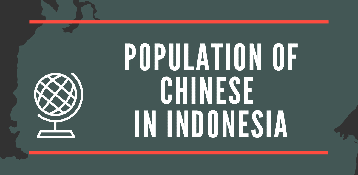 Population of Chinese in Indonesia
